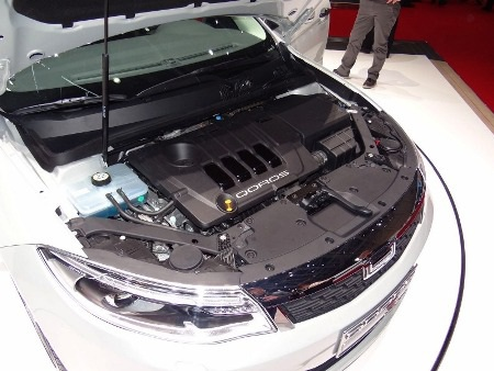 Một số hình ảnh xe Qoros 3 tại Triển lãm ô tô Geneva: